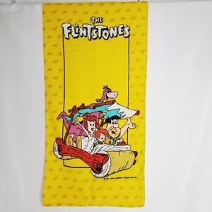 Vintage Rare Hanna-Barbera Flintstones Hand Towel